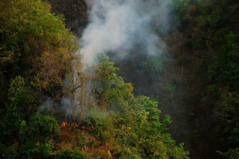 Fire at Abasan