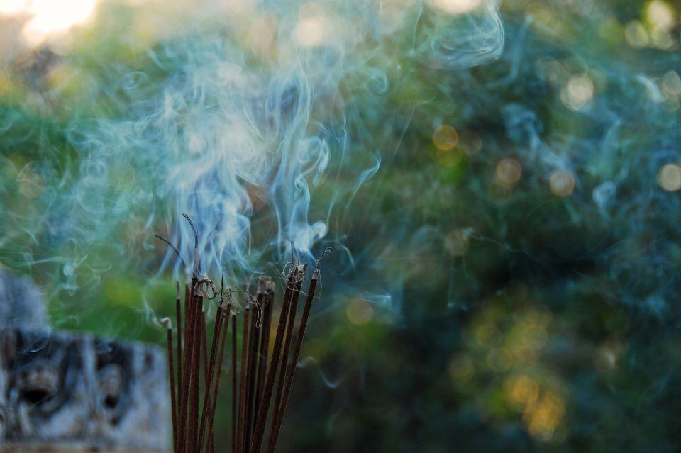 Burning Incense for Gratitude