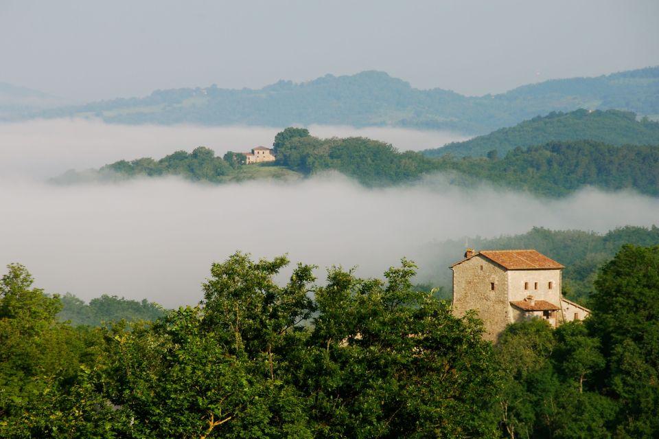 Morning Fog in Tuscany